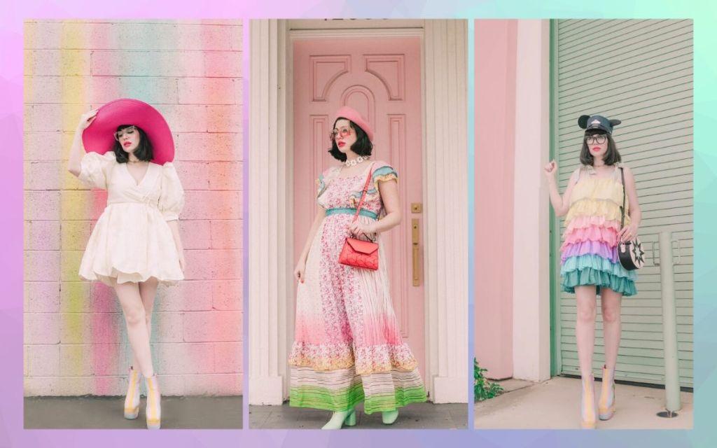 Influencer Amy Roiland fashion nerd
