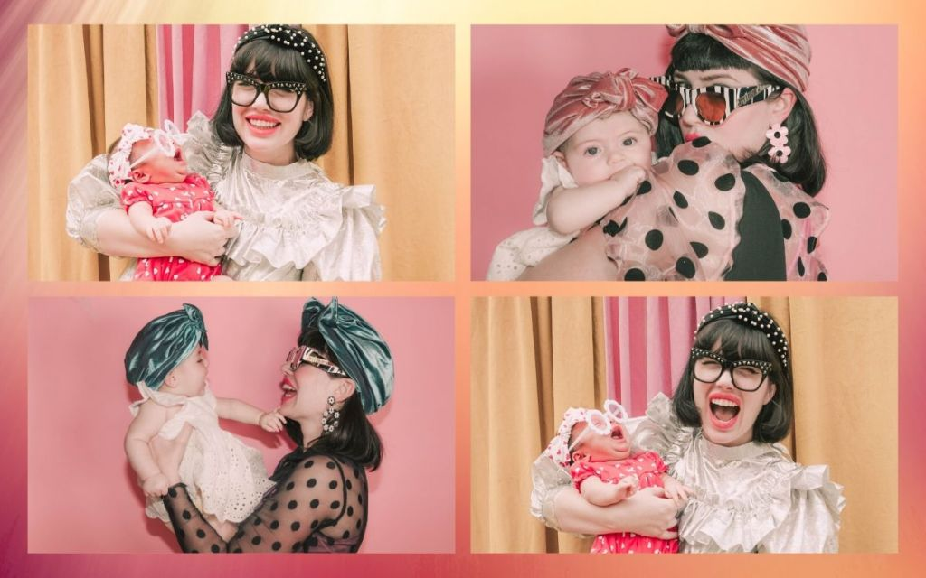 Amy Roiland and daughter Ryder Birdie