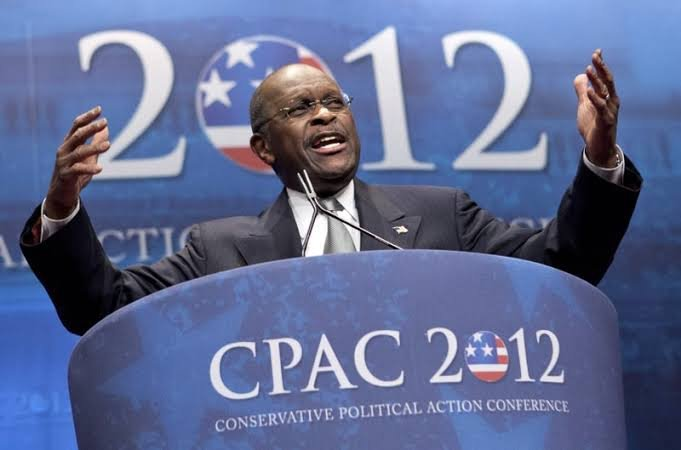 Herman Cain at the CPAC 2012