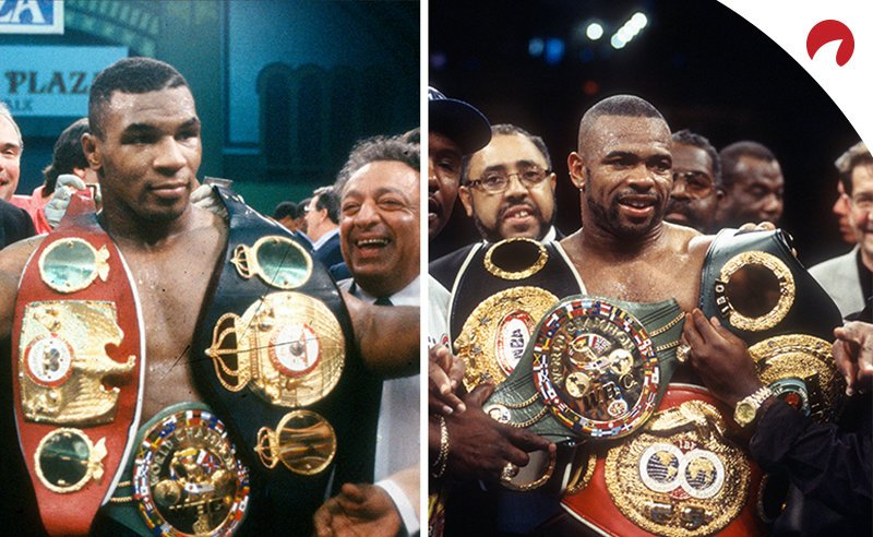 Mike Tyson and Roy jr at their peak