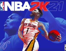 """The cover of """"NBA 2K21"""" featuring New Orleans Pelicans player Zion Williamson. The choice to include Williamson on the cover has been controversial to many due to his missing of many games due to a preseason injury."""