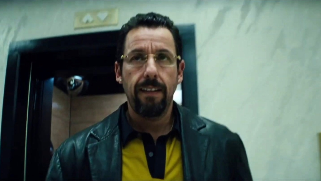 (Adam Sandler as Howard Ratnor in 2019's Uncut Gems)