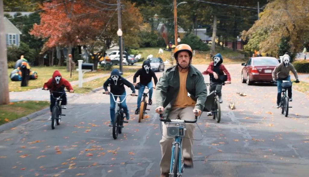 (Adam Sandler as Hubie Dubois in 2020's Hubie Halloween)
