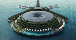 hayri atak envisions a huge floating hotel off the coast of qatar